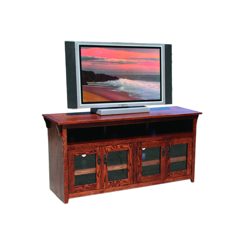 "American Mission Oak 65"" Open TV Console"