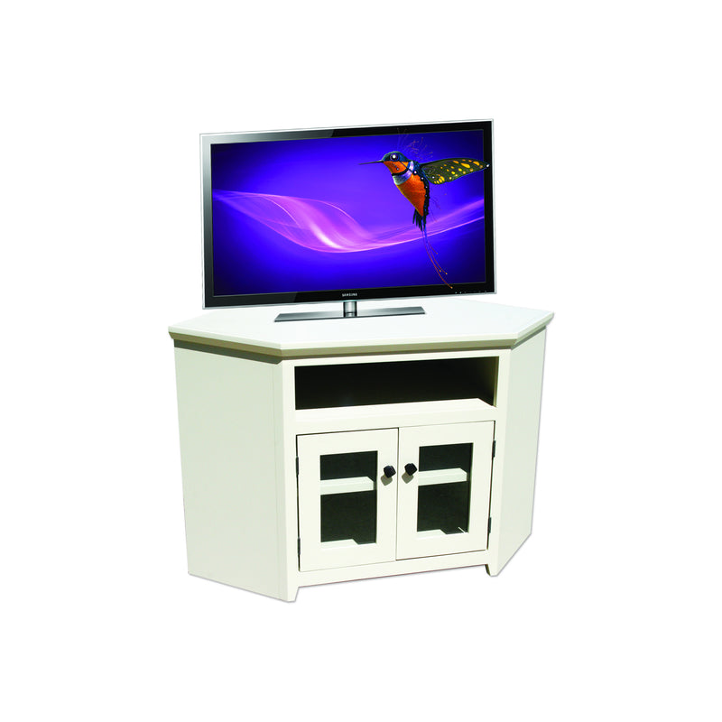"Modern Shaker Alder 46"" Corner Entertainment Console"