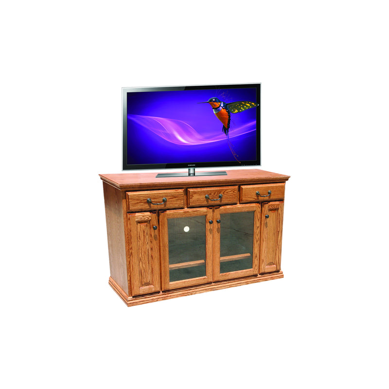 "Casano Traditional Oak 56"" Entertainment Console"