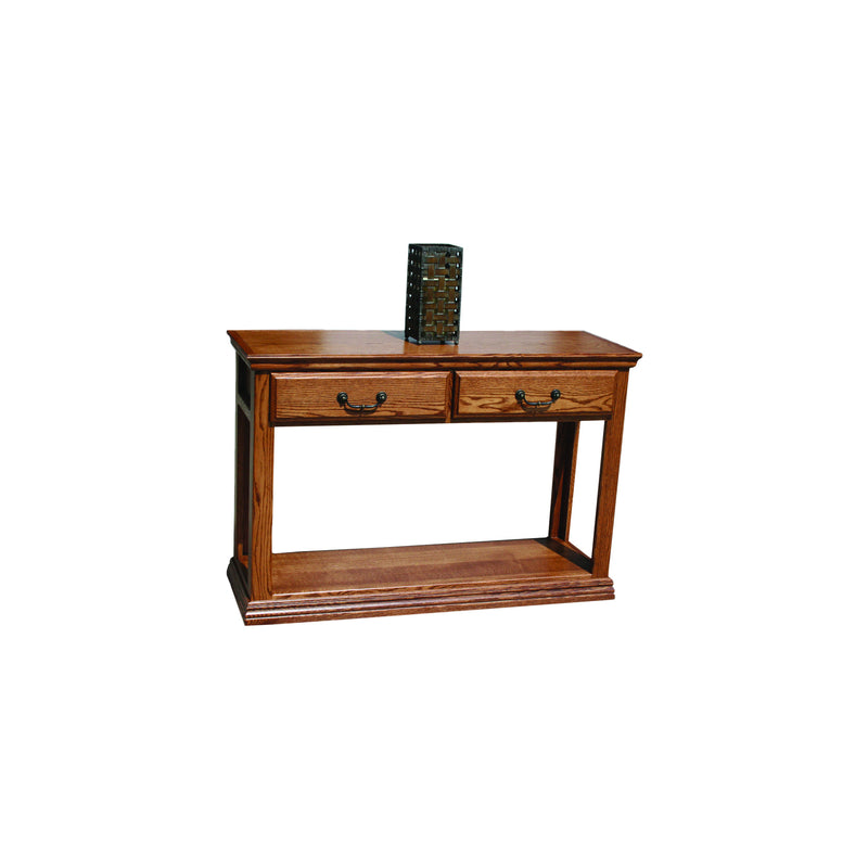 Casano Traditional Oak Sofa Console Table