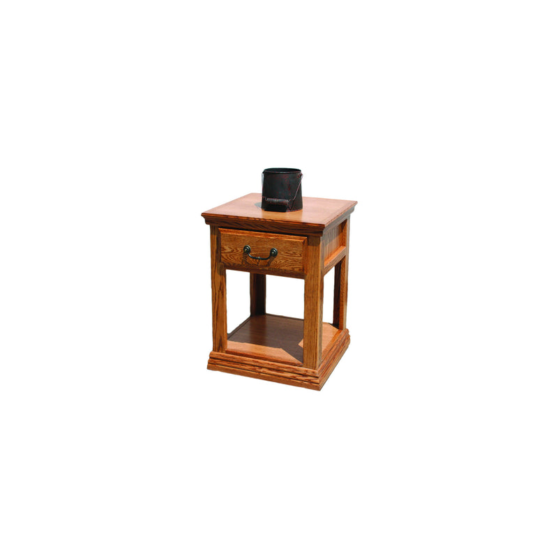 Casano Traditional Alder End Table
