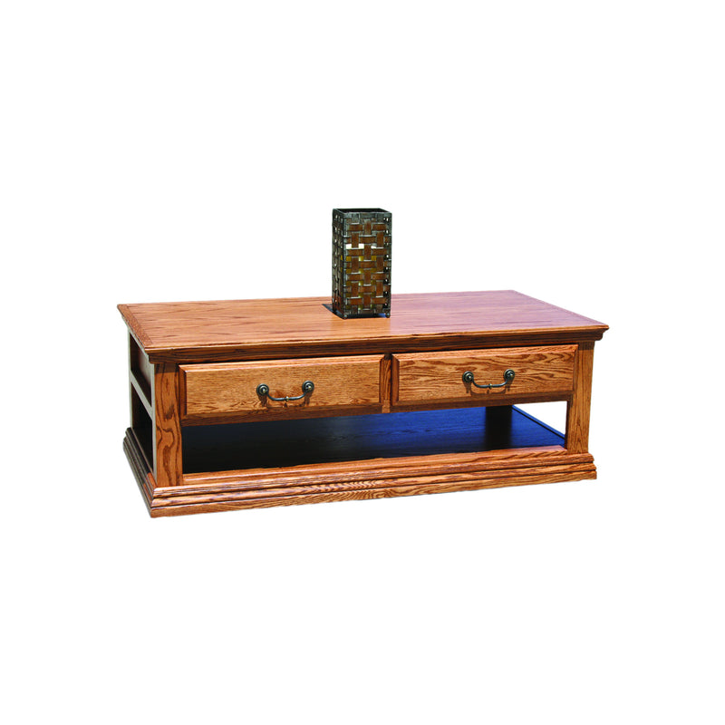 Casano Traditional Alder Coffee Table
