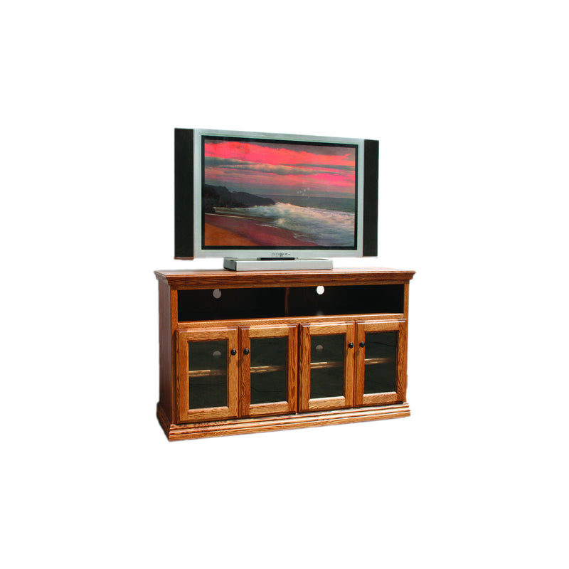 "Casano Traditional Oak 56"" Open TV Console"