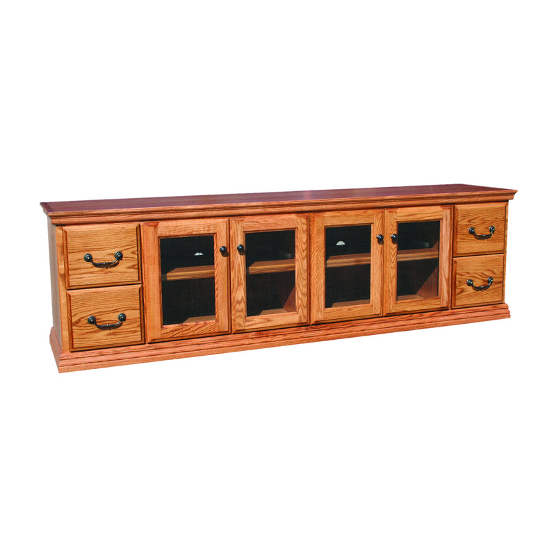 "Casano Traditional Alder 82"" TV Console"