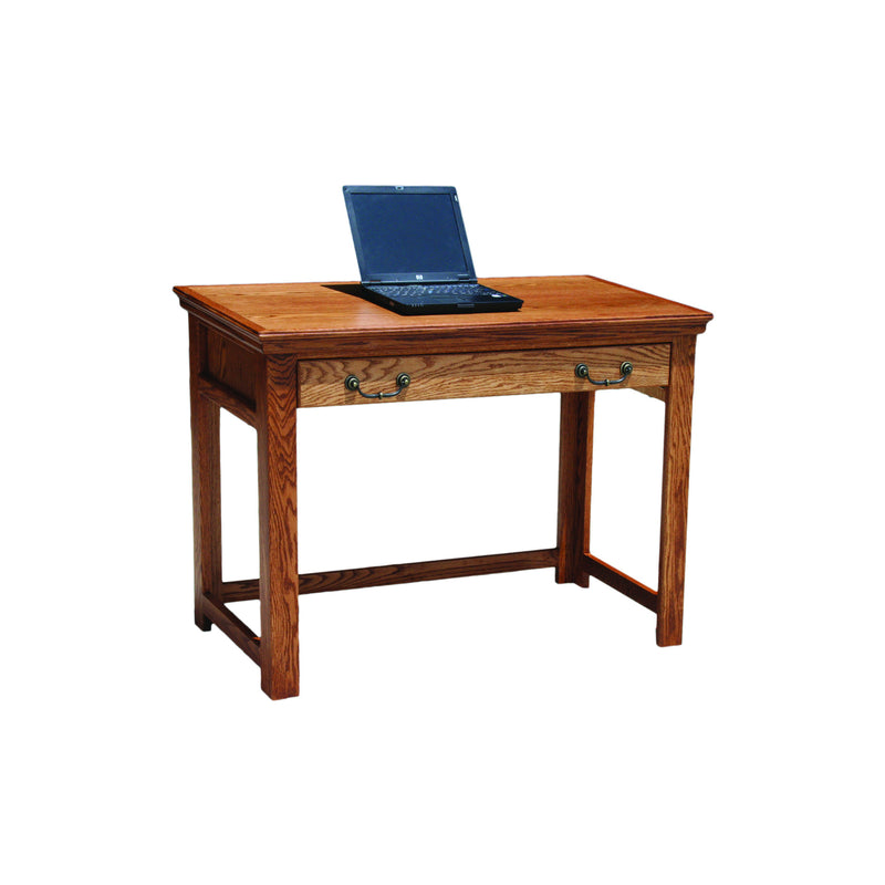 "Casano Traditional Oak 42"" Laptop Writing Table Desk"