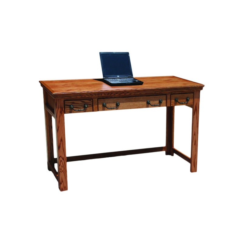 "Casano Traditional Oak 52"" Laptop Writing Table Desk"
