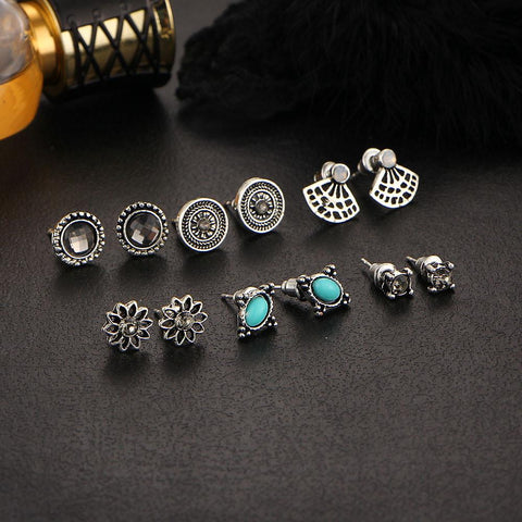 6pc Grand Earrings