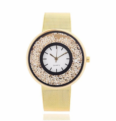 Gold Gem Watch