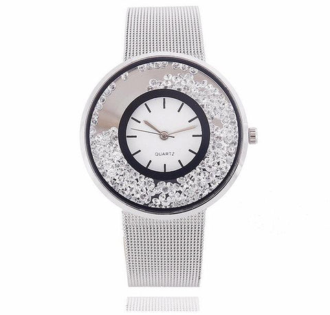 Silver Gem Watch