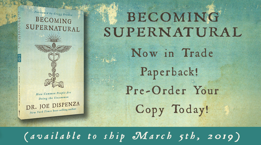 Becoming Supernatural now in Trade Paperback: Pre-Order Now!