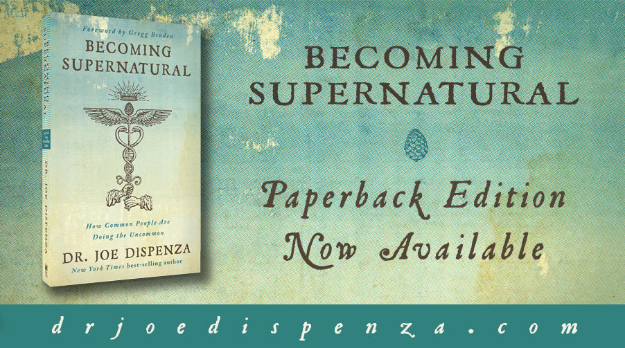Becoming Supernatural now in Trade Paperback: Order Now!