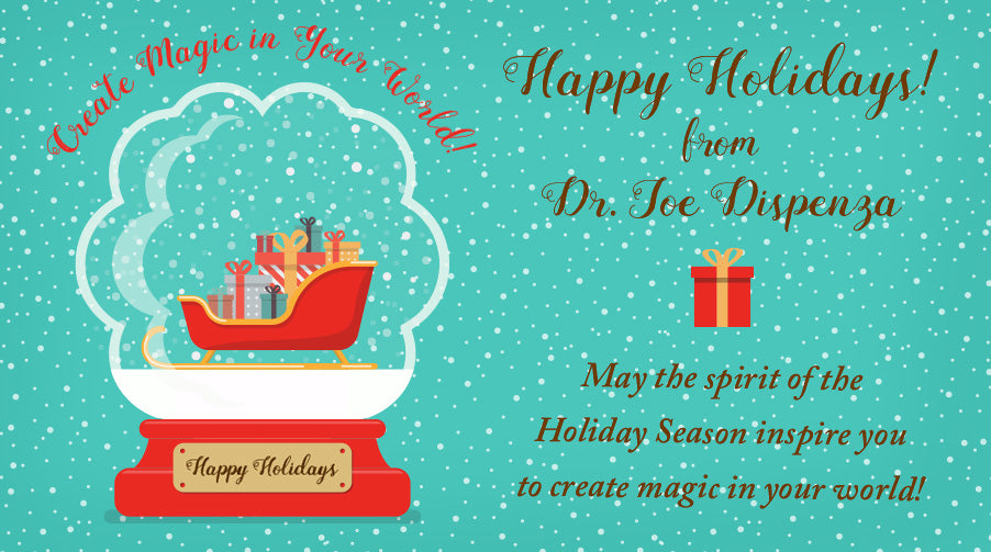 Happy Holidays from Dr. Joe!
