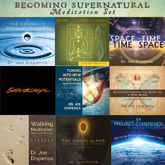 Special: Becoming Supernatural Meditation Package (8-CD/1-DVD)