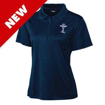 Shirt ~ Women's Becoming Supernatural Polo-Dark Navy