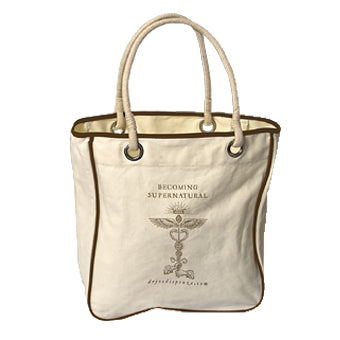 Becoming Supernatural Canvas Tote Bag