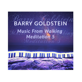 Music from Walking Meditation 5 by Barry Goldstein (Download)