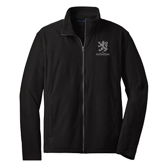 Zip Jacket ~ Unisex The Initiation - Fleece Black