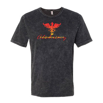 Shirt ~ Unisex Alchemy Short Sleeve - Mineral Wash Black