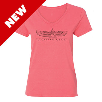Shirt ~ Women's Gamma Girl Short Sleeve Coral
