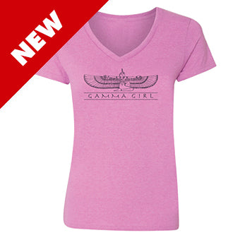 Shirt ~ Women's Gamma Girl Short Sleeve Heather Orchid