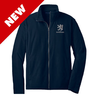 Zip Jacket ~ Unisex The Initiation - Fleece Navy