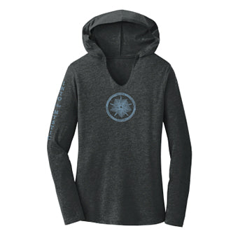 Shirt ~ Women's Into the Mystic Hoodie - Black