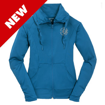 Zip Jacket ~ Women's Making Your Mind Matter  - Peacock Blue