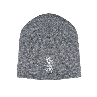 Beanie~Mind Over Matter - Light Grey