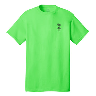 Shirt ~ Men's Mind Over Matter Shirt - Neon Green