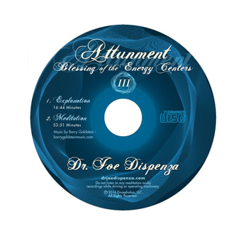 Blessing of the Energy Centers III: Attunement (1-CD)