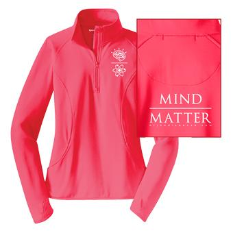 Zip Jacket ~ Women's Mind Over Matter- Coral