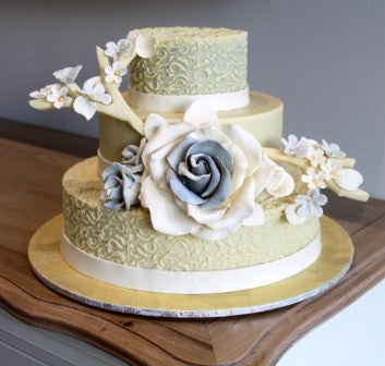Chocolate Smash Cake - Wedding Lace