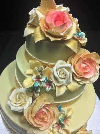 Chocolate Smash Cake - Wedding Floral