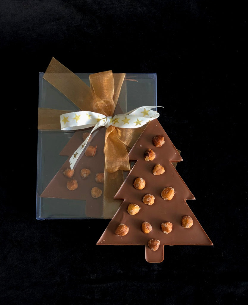 Healthy Christmas Chocolate Tree