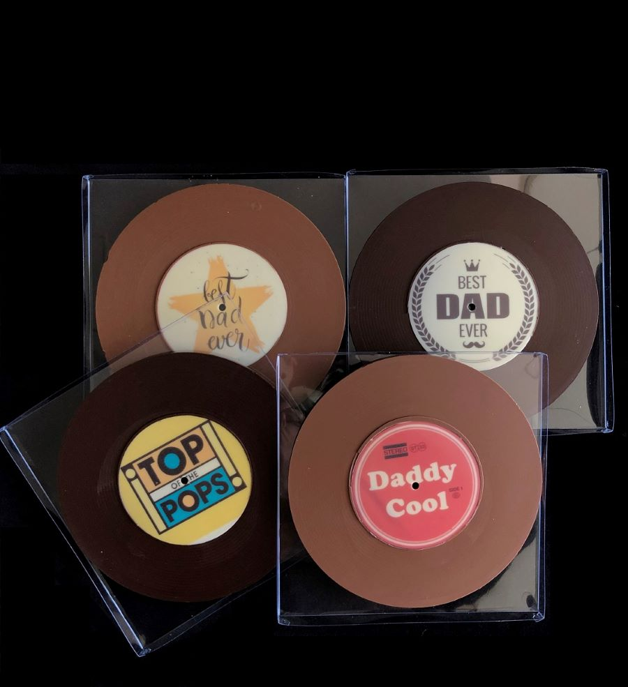 Father's Day Chocolate Vinyl Record