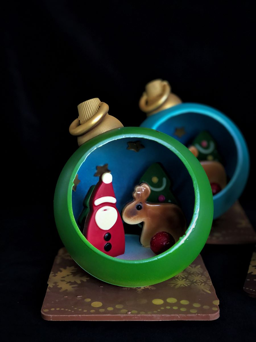 Christmas Bauble Scene