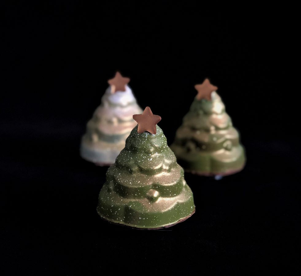 Mini Christmas Tree Smash Cake