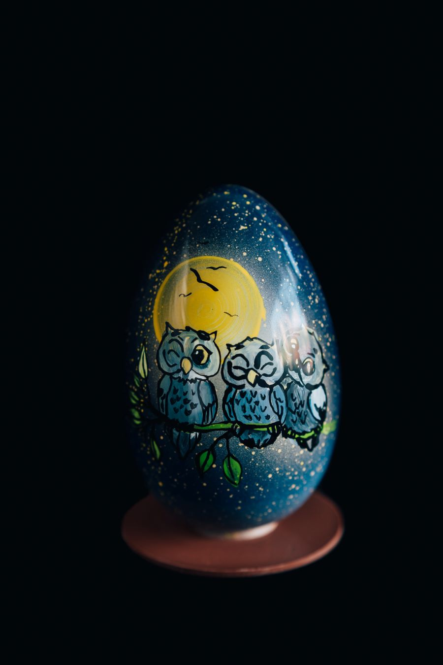 Starry Night Easter Owl