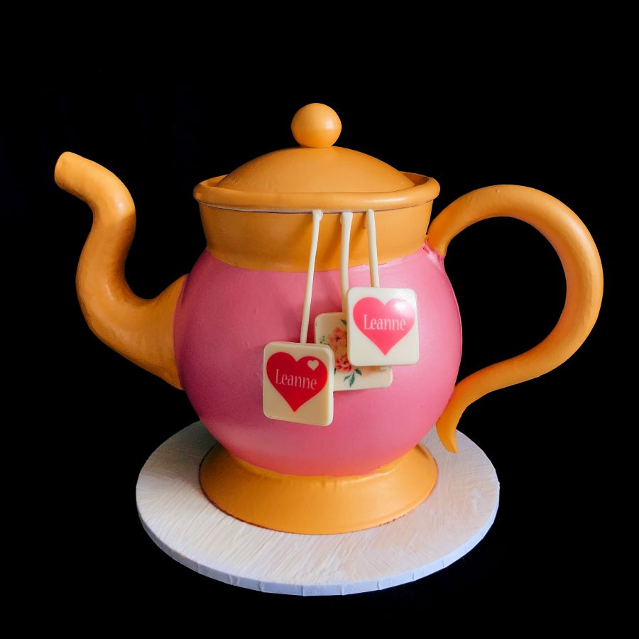 Tea Pot Smash Cake