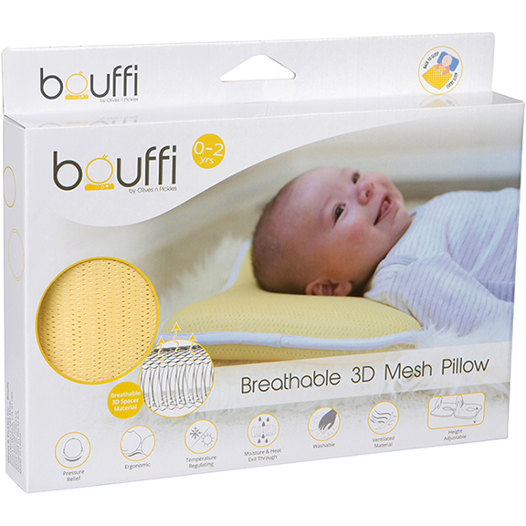 Breathable 3D Mesh Pillow