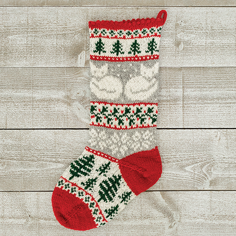 Fox & Forest Christmas Stocking Kit