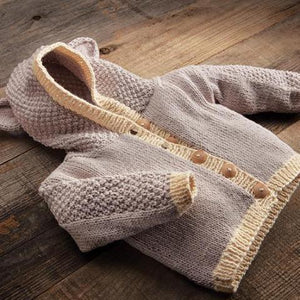 Baby Bear Cardigan Knit Kit