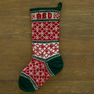 Christmas Diamonds Christmas Stocking