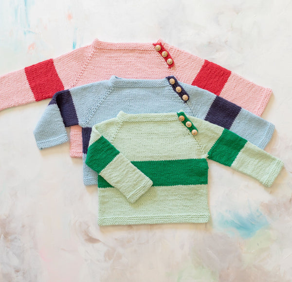 Rugby Baby Sweater Knit Kit