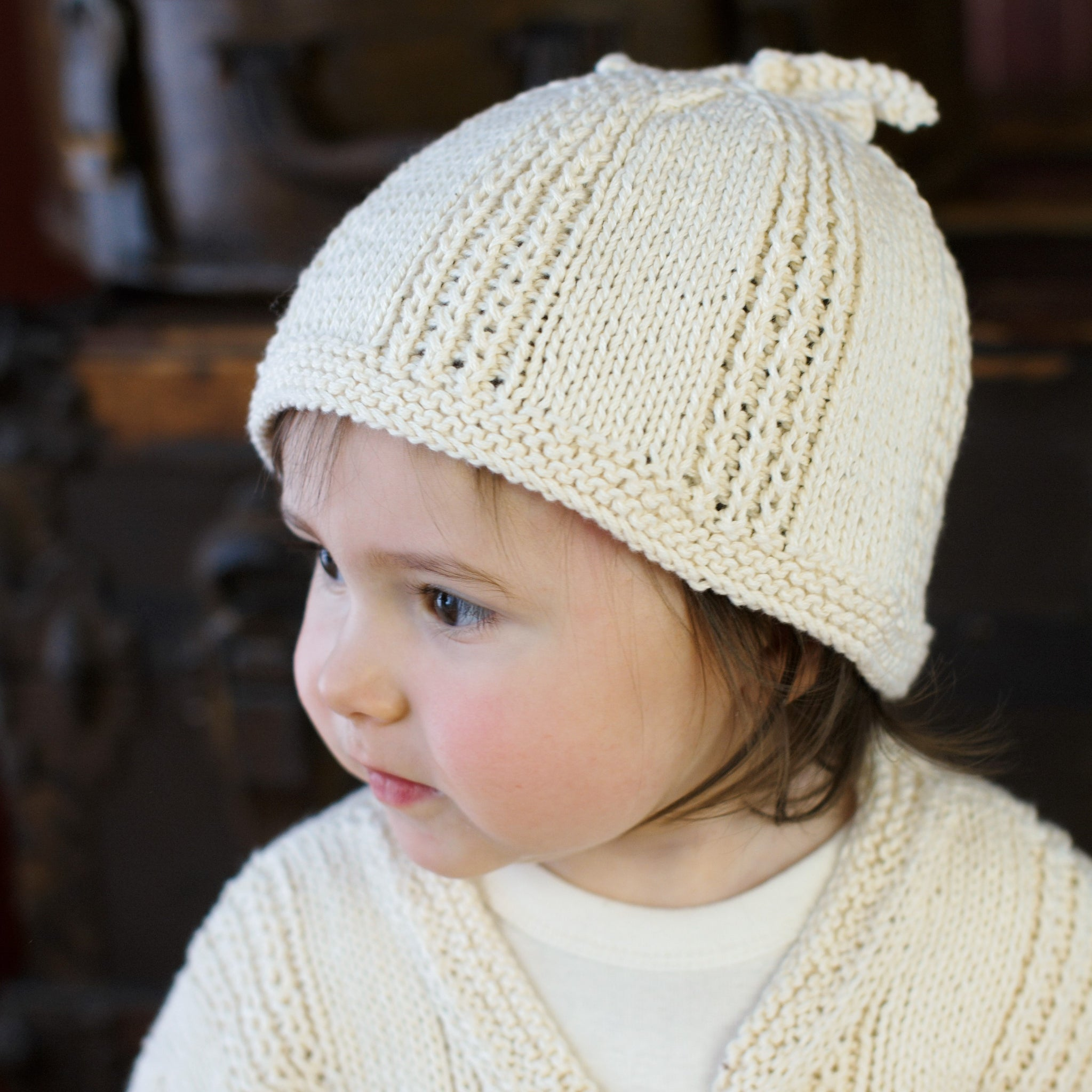 Hello Baby Hat Pattern