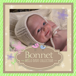 Baby Bonnet Hat Pattern