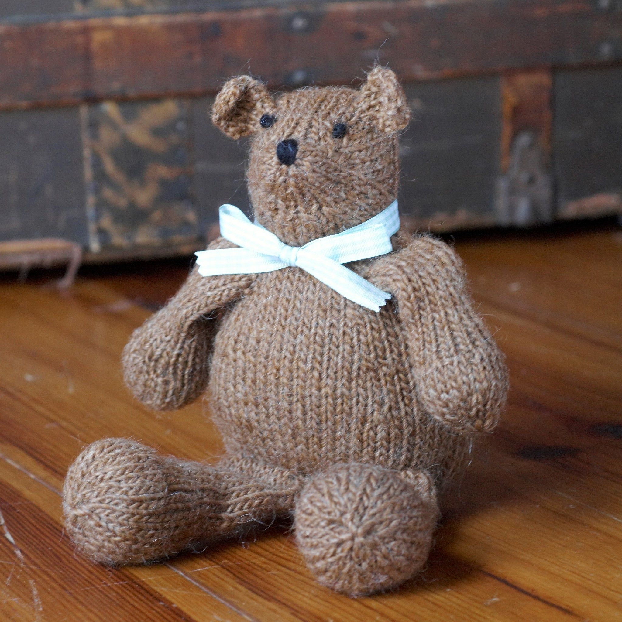 Ol' Bear Knit Toy Kit