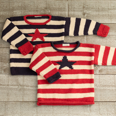 Stars & Stripes Pullover Pattern