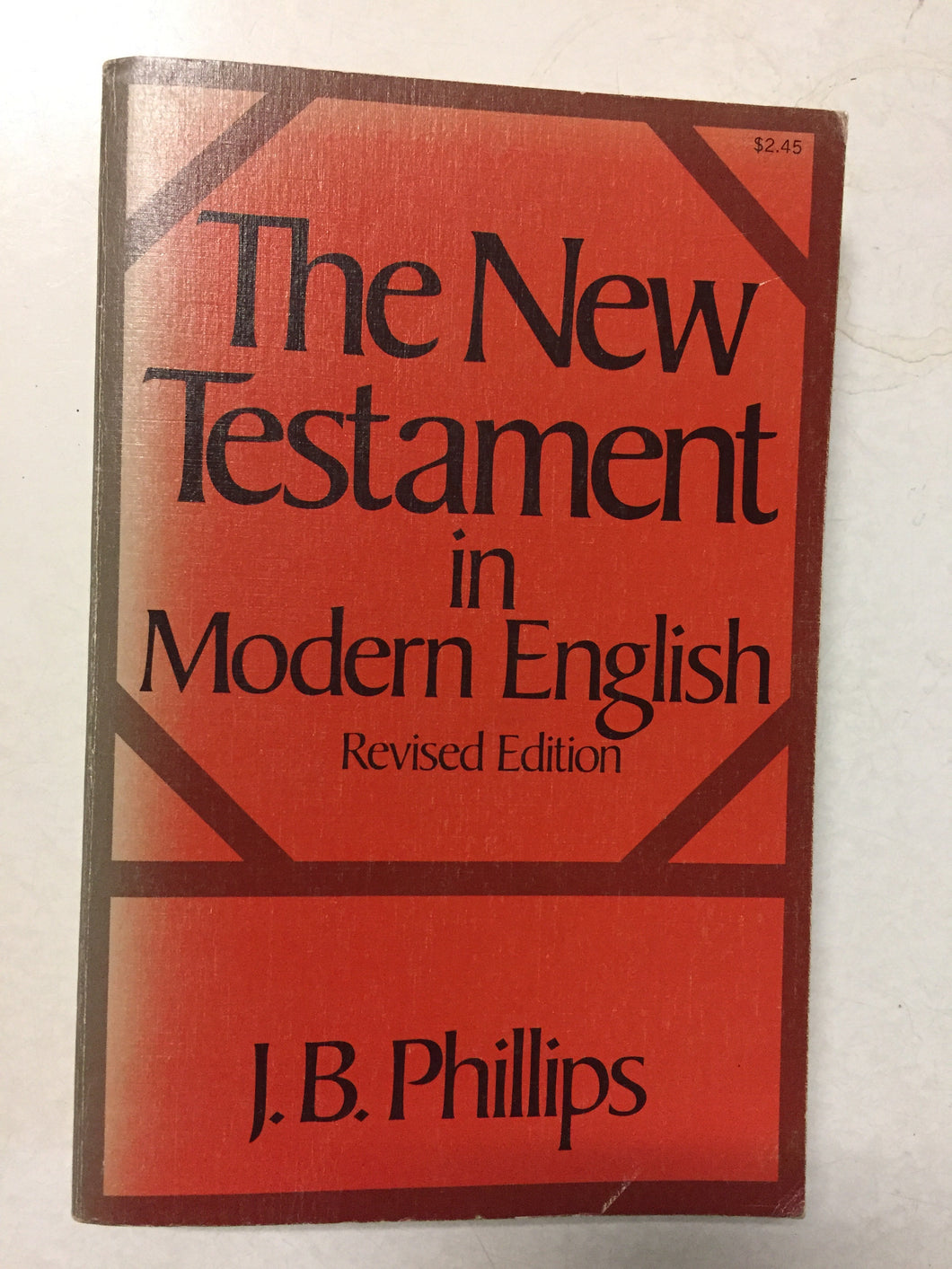 The New Testament in Modern English Revised Edition - Slickcatbooks