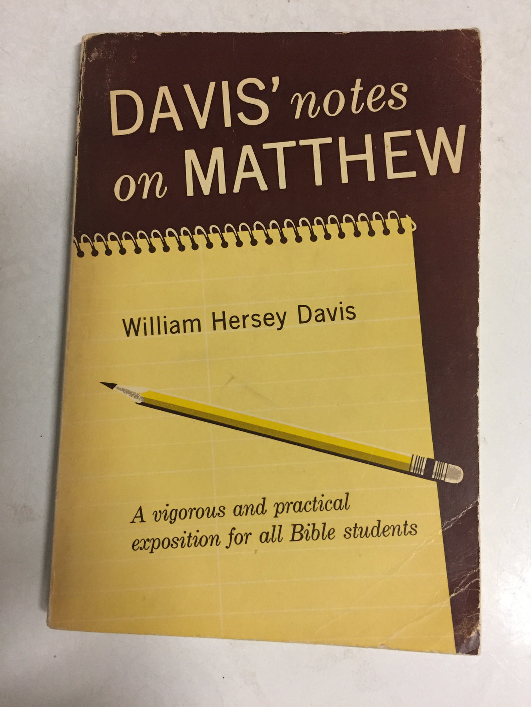 Davis' Notes on Matthew - Slick Cat Books